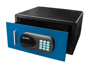 DUSAW Hotel Room safe Blue color